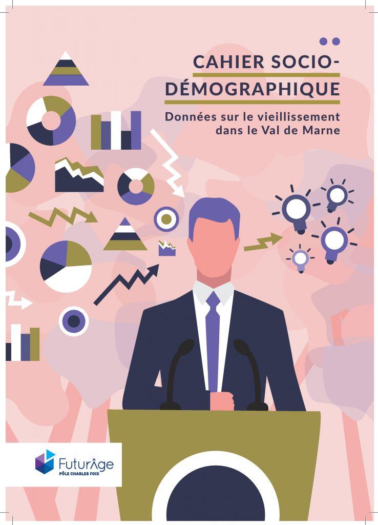 Ce cahier sociodémographique sur le vieillissement dans le val de marne, permet d'avoir une fiche par échelon territorial compilant des données sur le vieillissement.